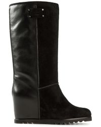 Marc By Marc Jacobs Wedge Heel Boots - Lyst