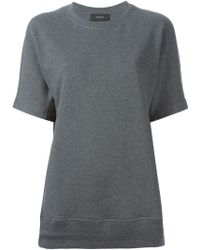 Joseph Short Sleeve Sweater - Lyst