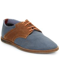 Ben Sherman Morris Mixedmedia Saddle Shoes - Lyst