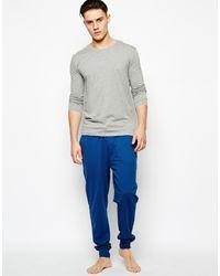 Selected 2 Pack Long Sleeve Top Regular Fit Greywhite - Lyst