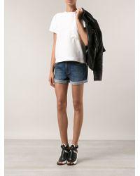 Neuw - 'Sister Ray' Denim Shorts - Lyst