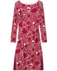 Tory Burch Red Ria Dress - Lyst