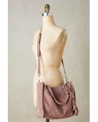 Miss Albright - Tasselled Leather Tote - Lyst