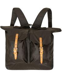 Ally Capellino - Black Frank Two Pocket Waxy Bag - Lyst