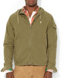 Ralph Lauren Polo Hooded Windbreaker - Lyst