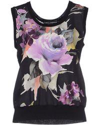 Dolce & Gabbana Top - Lyst