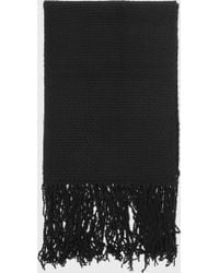 Helmut Lang | Cashmere Wool Oversized Scarf | Lyst