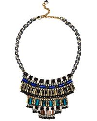 Nocturne - 'jez' Frontal Necklace - Lyst
