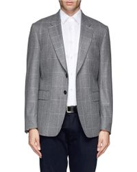 Paul Smith Windowpane Check Blazer - Lyst