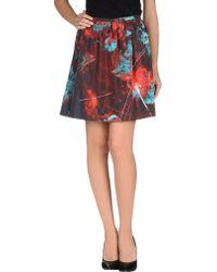 Calla - Mini Skirt - Lyst
