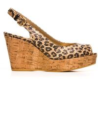 Stuart Weitzman The Jean Wedge - Lyst