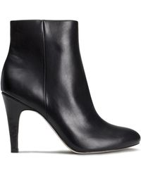 H&M Black Ankle Boots - Lyst