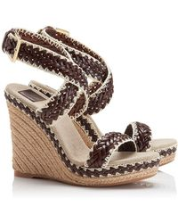 Tory Burch Lilah Wedge Espadrille - Lyst