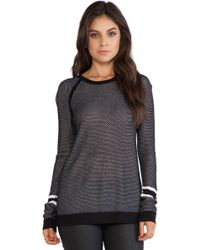 Rag & Bone Martina Striped Pullover - Lyst