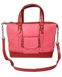 Olivia Harris Cobain Satchel Poppy pink - Lyst