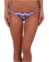Vix Sofia By Siberia Ripple Tie Side Full Bottom - Lyst