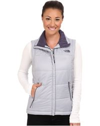 The North Face Red Slate Vest - Lyst