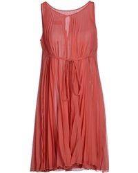 Gio' Guerreri Short Dress - Lyst