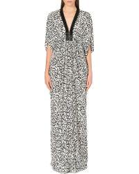 Issa Goddess Silk Kaftan Dress - Lyst