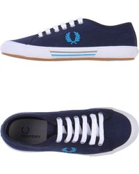 Fred Perry Lowtops Trainers - Lyst