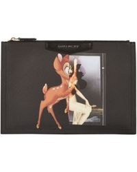 Givenchy Bambi & Female-Form Medium Antigona Pouch - Lyst