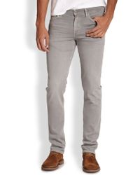 7 For All Mankind Luxe Performance Slimmy Slim Straight-leg Jeans - Lyst