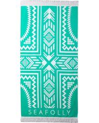 Seafolly | Palm Springs Towel | Lyst