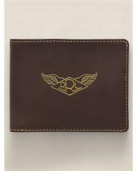 Ralph Lauren Leather Single-Fold Wallet - Lyst