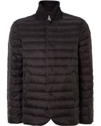 Armani Nylon Padded Jacket - Lyst