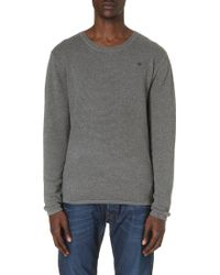 G-star Raw Logo Detailed Knitted Jumper - Lyst