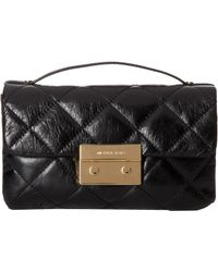 MICHAEL Michael Kors Sloan Small Quilted Messenger 1 - Lyst