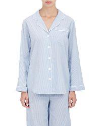 Steven Alan - Piped Pajama Shirt - Lyst