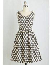 ModCloth | Exuberant At First Sight Dress | Lyst