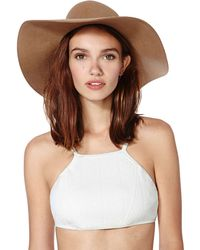 Nasty Gal Beach Riot X Stone Cold Fox Cannes Bikini Top - Lyst