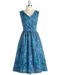 ModCloth | Painting Presentation Dress | Lyst