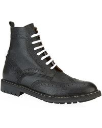 Givenchy Contrast Lace Ankle Boots - Lyst