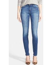 Joe's Jeans Mid Rise Skinny Jeans - Lyst