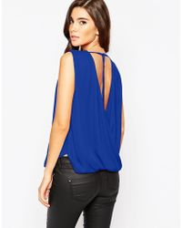 TFNC | Cowl Back Top | Lyst