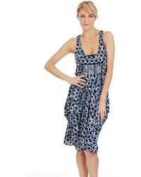 Michael by Michael Kors Batik Ring Swim Coverup - Lyst