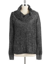 Anne Klein Cowl Neck Sweater - Lyst
