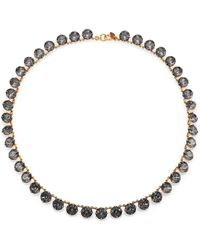 Ca & Lou Debutante Crystal Necklace - Lyst