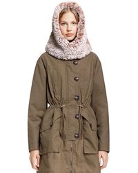 Tory Burch - Oversized Hood - Lyst