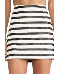 Mink Pink Next in Line Skirt - Lyst