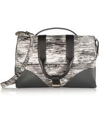 Jason Wu Hanne Printed Leather Shoulder Bag - Lyst