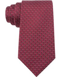Kenneth Cole Reaction Mini Zig-zag Slim Tie - Lyst