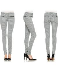 Joe's Jeans Zip Moto Skinny - Lyst