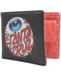 Santa Cruz - Eyeball Wallet - Lyst