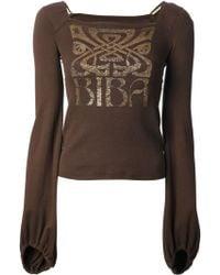 Biba - Logo Print Tshirt - Lyst