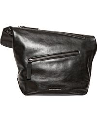 Jil Sander Pilade Nappa Leather Pouch - Lyst