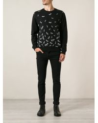 McQ by Alexander McQueen Logo Print Sweatshirt - Lyst